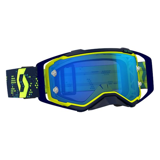 Picture of SCOTT Prospect Goggles Yellow / Blue with Blue Chrome Works Lens