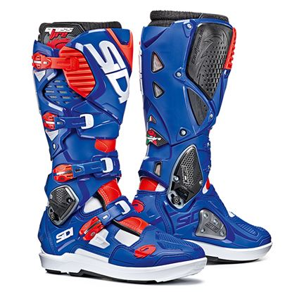 Picture of SIDI Crossfire 3 SRS Boots Blue / Red