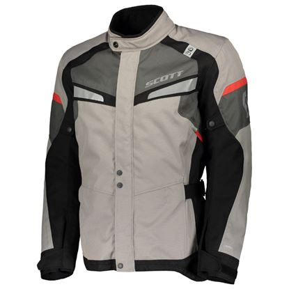 Picture of SCOTT Storm DP Jacket Light-Grey Red