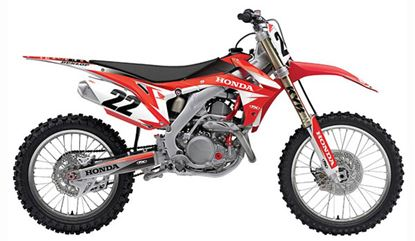 Picture of FACTORY EFFEX EVO Honda Shroud & Airbox Graphics Kit