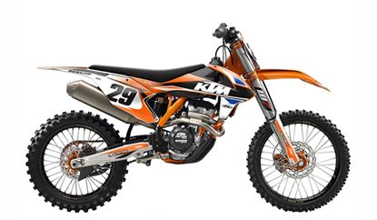 Picture of Evo KTM Shroud & Airbox Graphics Kit - Factory Effex