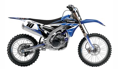 Picture of EVO Yamaha Shroud Tank & Airbox Graphics Kit - Factory Effex