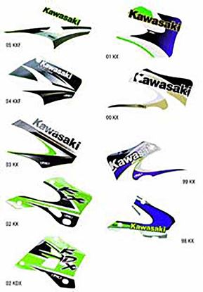 Picture of Factory Effex KAWASAKI OEM Replacement Shroud Graphics