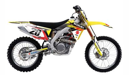 Picture of EVO Suzuki Shroud Tank & Airbox Graphics Kit - Factory Effex