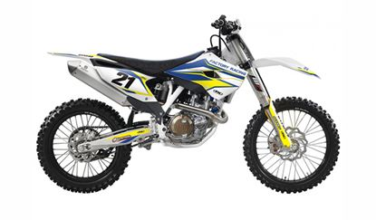 Picture of EVO Husqvarna Shroud Tank & Airbox Graphics Kit - Factory Effex