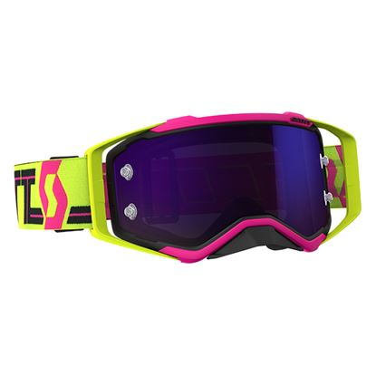 Picture of SCOTT Prospect Goggles Pink Yellow with Purple Chrome Works Lens