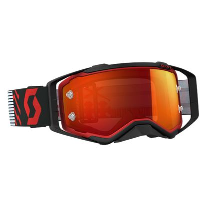 Picture of SCOTT Prospect Goggles Red Black with Orange Chrome Works Lens
