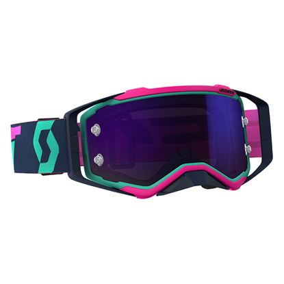 Picture of SCOTT Prospect Goggles Teal Pink with Purple Chrome Works Lens