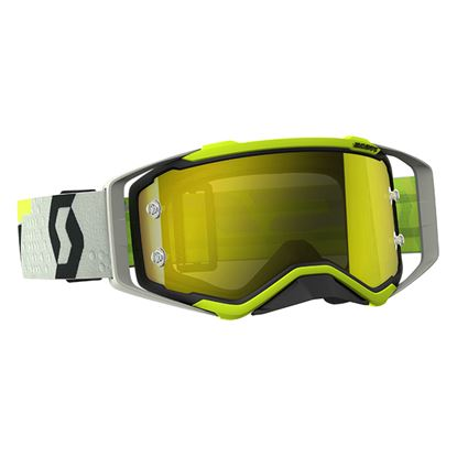 Picture of SCOTT Prospect Goggles Black Yellow with Yellow Chrome Works Lens
