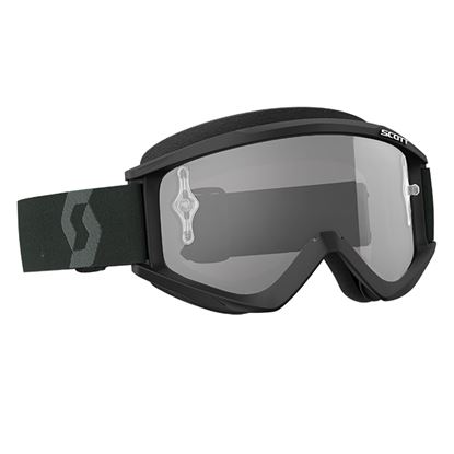 Picture of SCOTT Recoil Xi 2018 Black White with Clear Works Lens