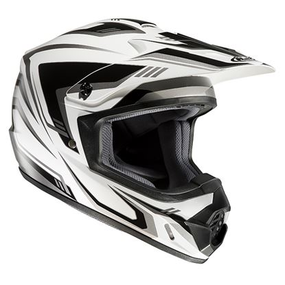Picture of HJC CS-MX II Helmet Edge Black White