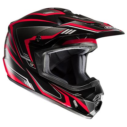 Picture of HJC CS-MX II Helmet Edge Black Red