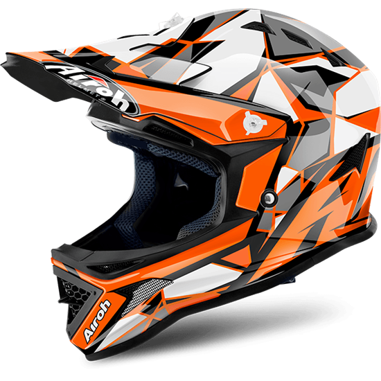 Picture of AIROH  ARCHER Youth Helmet Chief Orange Gloss