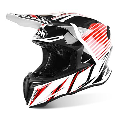 Picture of AIROH - TWIST Helmet Strange Red Gloss