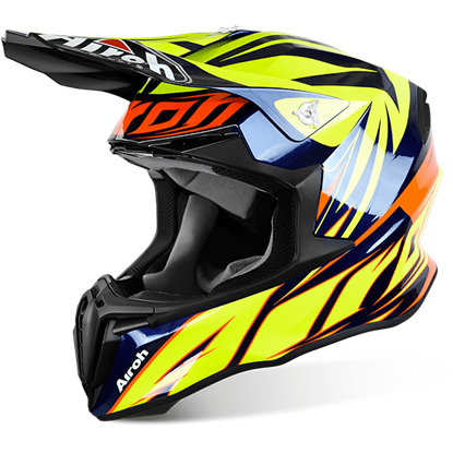 Picture of AIROH  TWIST Helmet Evil Blue Gloss