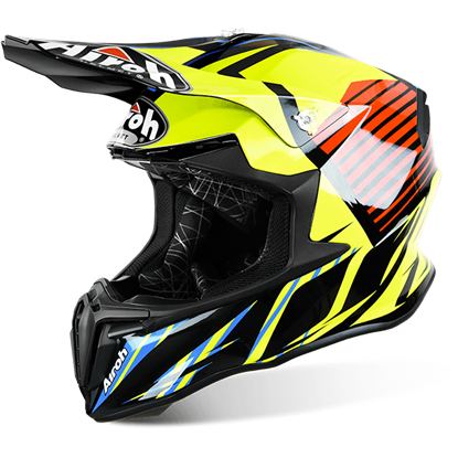 Picture of AIROH  TWIST Helmet Strange Blue Gloss