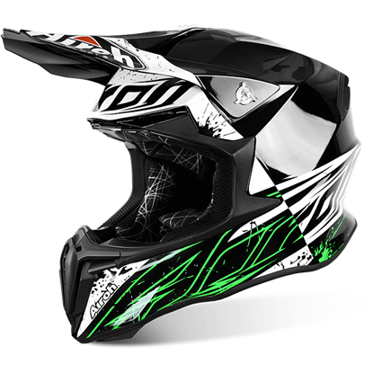 Picture of AIROH  TWIST Helmet Spot Gloss Black