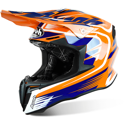 Picture of AIROH  TWIST Helmet Mix Orange Gloss