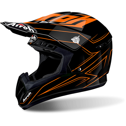 Picture of AIROH  SWITCH Helmet Spacer Orange Gloss