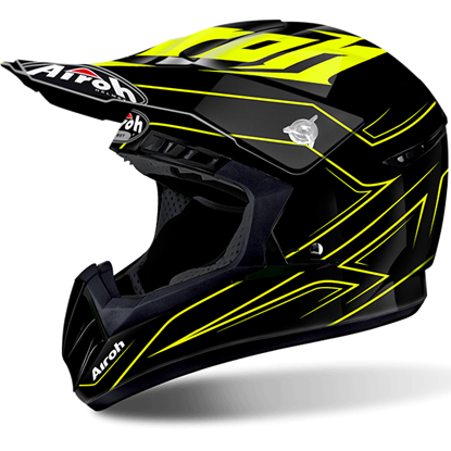 Picture of AIROH  SWITCH Helmet Spacer Yellow Gloss
