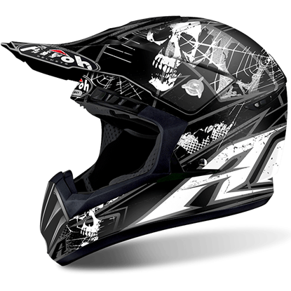 Picture of AIROH  SWITCH Helmet Scary Black Matt