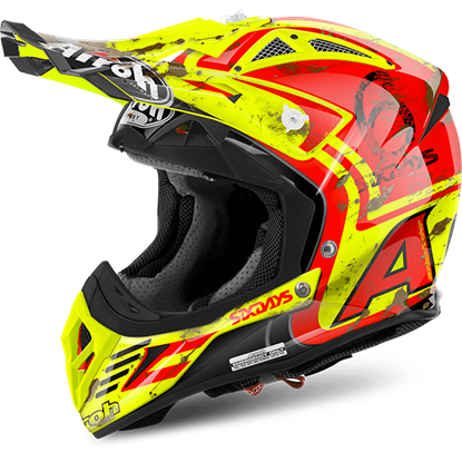 Picture of AIROH  AVIATOR 2.2 Carbon Kevlar Helmet 2017 Six Days
