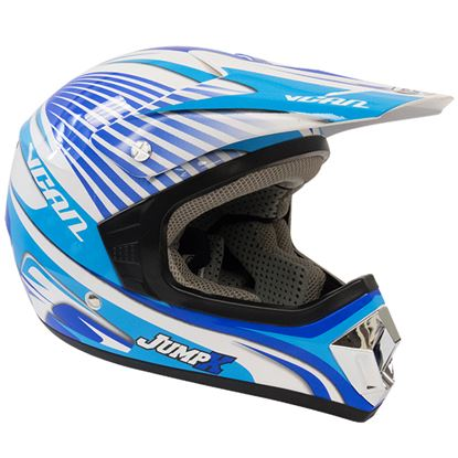 Picture of VCAN V311 Youth MX Helmet MX Jump Blue