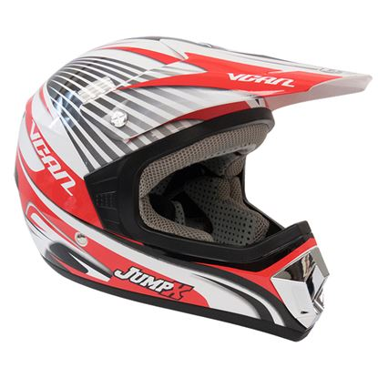 Picture of VCAN V311 Youth MX Helmet MX Jump Red