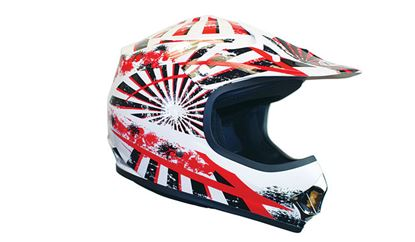 Picture of KYLIN  MX Child Helmet Razz Red
