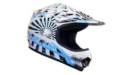 Picture of KYLIN  MX Child Helmet Razz Blue