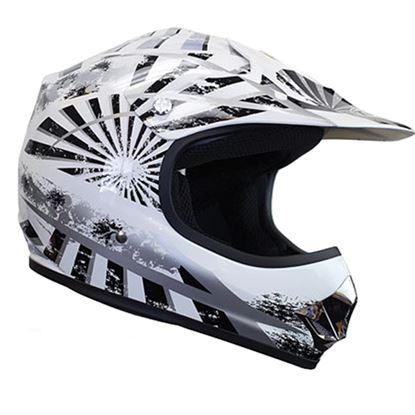 Picture of KYLIN  MX Child Helmet Razz Black