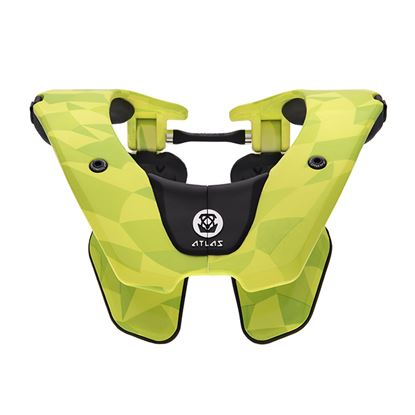 Picture of ATLAS Youth Tyke Neck Brace Neon Prism