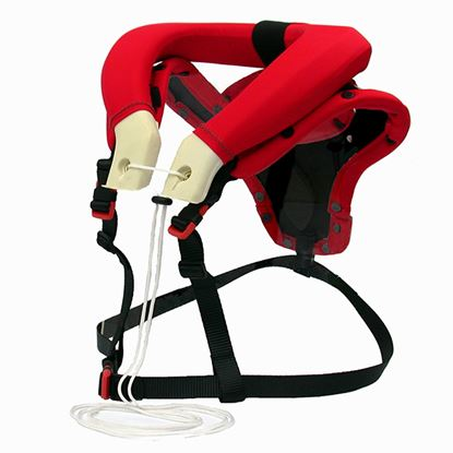Picture of PROGRIP  Soft Neck Brace Adult Red