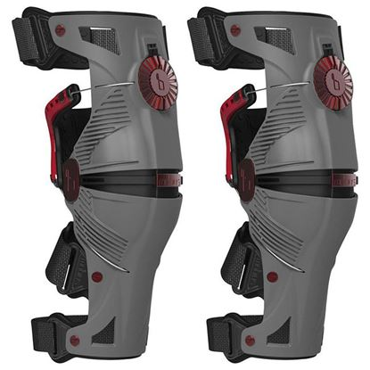 Picture of MOBIUS X8 Knee Braces Grey Crimson