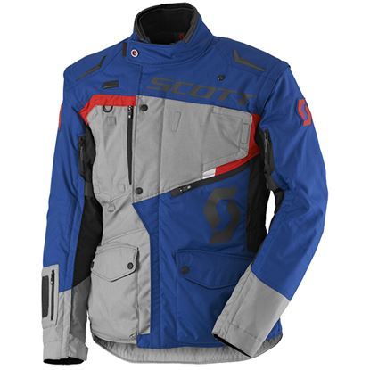 Picture of SCOTT  Dual Raid Jacket Grey Blue