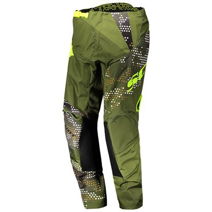 Picture of SCOTT  350 Youth Race Pants 2018 Green Yellow
