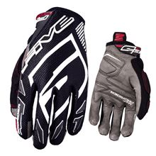 Picture of !13/3XL MXF PRORIDER S Black/ White Glove FIVE XXXL        [A]