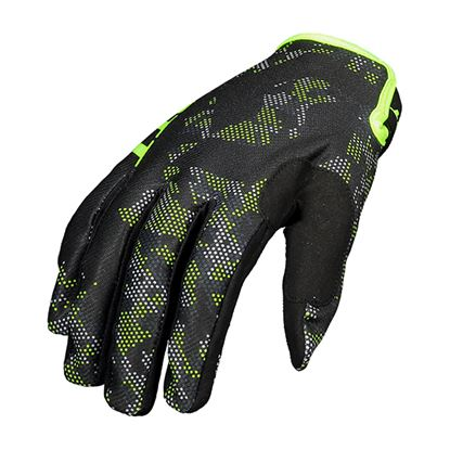 Picture of SCOTT 350 Youth Race Glove 2018 Black Yellow