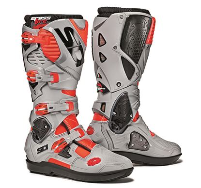 Picture of SIDI  Crossfire 3 SRS Boots Grey Fluoro Red