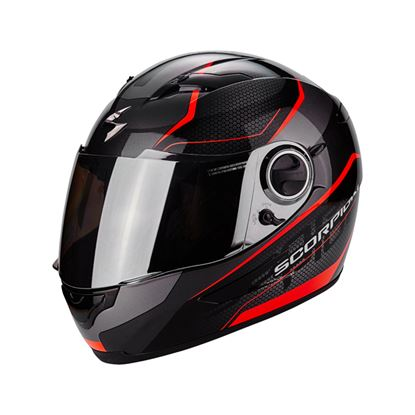 Picture of SCORPION EXO-490 VISION Black Red