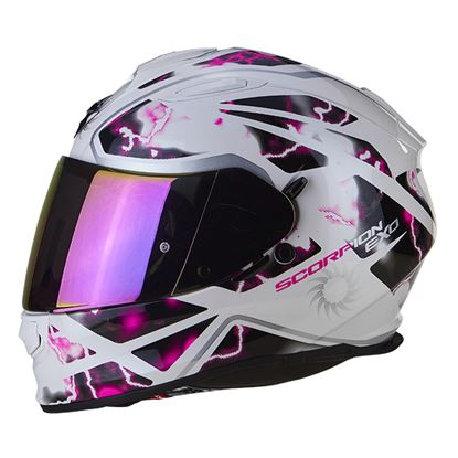 Picture of SCORPION EXO-510 Air Xena  White Pink