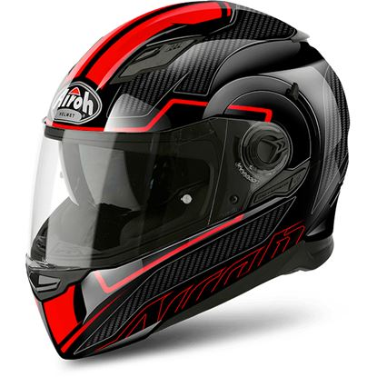 Picture of AIROH Movement S Faster Red Gloss Black