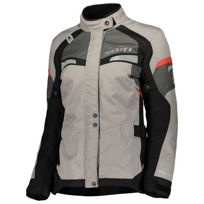 Picture of SCOTT Storm DP Women's Jacket Light-Grey Red