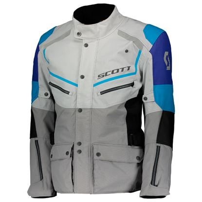 Picture of SCOTT  Turn  DP Jacket Black Light Grey-Blue