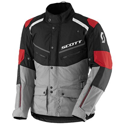 Picture of SCOTT Turn  DP Jacket Black Light Grey-Red