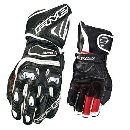 Picture of FIVE  RFX1 Women's Race Gloves Black white