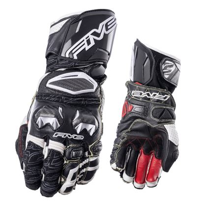 Picture of FIVE RFX Kevlar Race Glove Black White