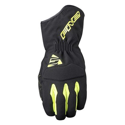Picture of FIVE WFX3 WP Gloves Black Yellow