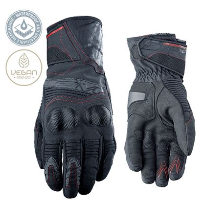 Picture of FIVE  WFX2 WP Gloves Black Red