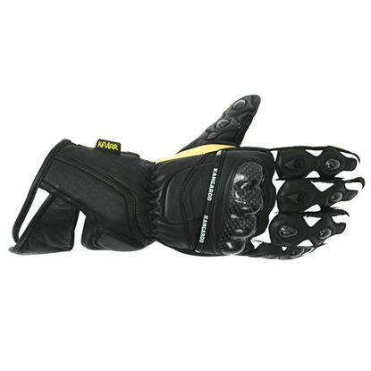 Picture of ORINA Kangaroo Race Gloves Black